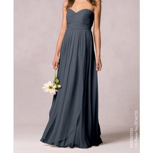 7000c4f512cb Jenny Yoo Dresses | Mira Convertible Dress In Storm | Poshmark